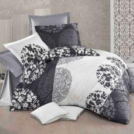 Kvalitex Bavlnené obliečky Delux Grey fields, 240 x 200 cm, 2 ks 70 x 90 cm