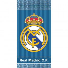 TipTrade Osuška Real Madrid Blue Stripes, 70 x 140 cm