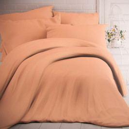 Kvalitex Bavlnené obliečky lososová, 200 x 200 cm, 2 ks 70 x 90 cm
