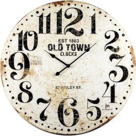 Lowell 21486 Dizajnové nástenné hodiny pr. 60 cm