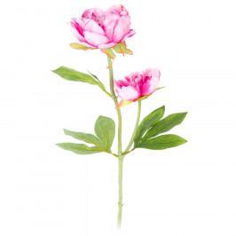 Umelá kvetina Pivonka tmavoružová, 58 cm