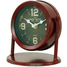 Stolné hodiny Union hotel zelená, pr. 15 cm
