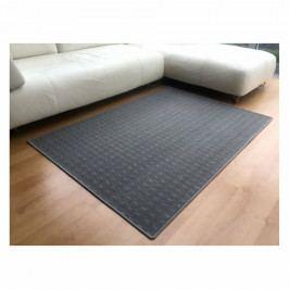 Vopi Kusový koberec Valencia sivá, 140 x 200 cm
