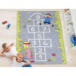 Bellatex Detský kusový koberec Skákací Panák, 100 x 150 cm