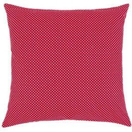 Bellatex Vankúšik Rita Bodka červená, 40 x 40 cm