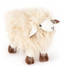 Bo-Ma Trading Plyšová ovca Hippies krémová, 30 cm
