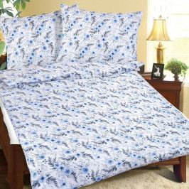 Bellatex Krepové obliečky Kvietok modrá