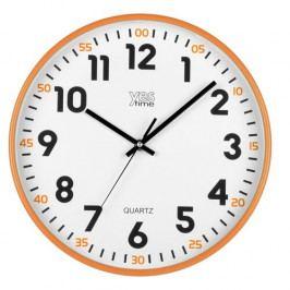 Lowell 00720O Nástenné hodiny pr. 30 cm