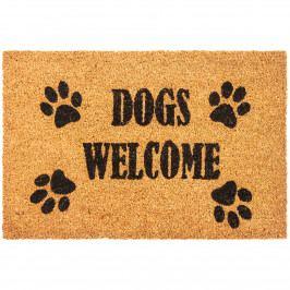 Trade Concept Kokosová rohožka Dogs Welcome, 40 x 60 cm