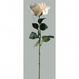 Umelá kvetina Ruža biela, 60 cm