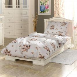 Kvalitex Bavlnené obliečky Provence Adél béžová, 240 x 200 cm, 2 ks 70 x 90 cm