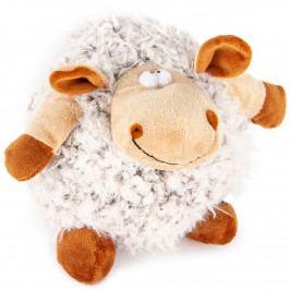 Bo-Ma Trading Plyšová ovca Hnedá guľa, 20 cm
