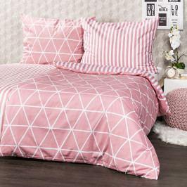 4Home Bavlnené obliečky Galaxy ružová, 220 x 200 cm, 2 ks 70 x 90 cm
