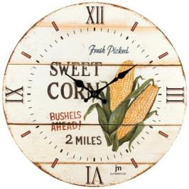 Lowell 21493 Dizajnové nástenné hodiny pr. 34 cm