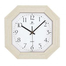 Lowell 02822R Dizajnové nástenné hodiny 27 x 27 cm