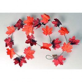 Jesenná girlanda 180 cm, červená