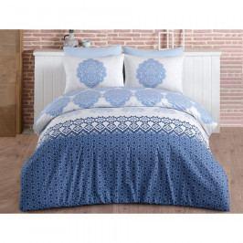BedTex Bavlnené obliečky Trevi Blue, 140 x 200 cm, 70 x 90 cm