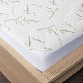 4home Bamboo Chránič matraca s lemom, 160 x 200 cm