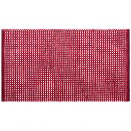 BO-MA Trading Kusový bavlnený koberec Elsa červená, 70 x 120 cm