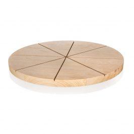 Banquet Doštička krájacia drevená na pizzu BRILLANTE 32 x 1,5 cm