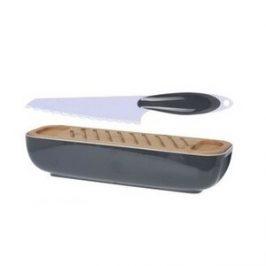Box na chlieb s doštičkou na krájanie a nožom