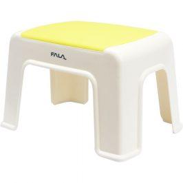 Fala Plastová stolička 30 x 20 x 21 cm, žlutá