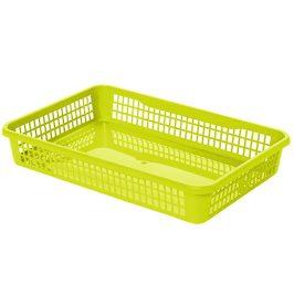 Aldo Plastový košík 15,5 x 12,5 x 6,6 cm, zelená