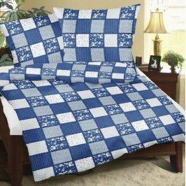 Bellatex Bavlnené obliečky Patchwork modrá