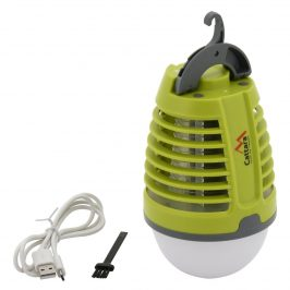 Cattara Nabíjacie svietidlo a lapač hmyzu Pear 2v1 13180