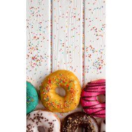 Tiptrade Detský uterák Donuts, 30 x 50 cm