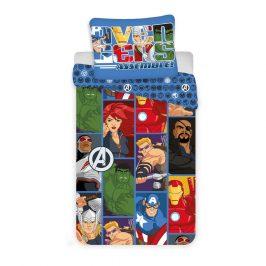 Jerry Fabrics Detské obliečky Avengers D3 micro, 140 x 200 cm, 70 x 90 cm