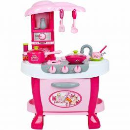 Veľká detská kuchynka s dotykovým senzorom Bayo + príslušenstvo