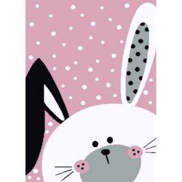 Vopi Kusový detský koberec Kiddo 0131 pink , 120 x 170 cm