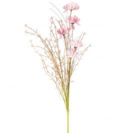 Umelé lúčne kvetiny 50 cm, staroružová