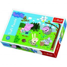 Trefl Puzzle Prasiatko Peppa v prírode, 30 dielikov