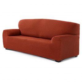 Forbyt Multielastický poťah na 4-dielnu sedaciu súpravu Martin terakota, 220 - 260 cm