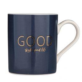 Altom Porcelánový hrnček Good Life, 300 ml, modrá