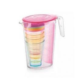 Tescoma Džbán s pohármi myDRINK 2,5 l, ružová 308802.19