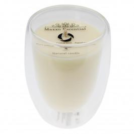 Maxxo Escential Sviečka v skle Orchid Noir, prírodný vosk, 250 g