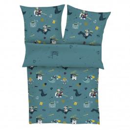 s.Oliver Detské saténové obliečky 5991/650, 135 x 200 cm, 80 x 80 cm