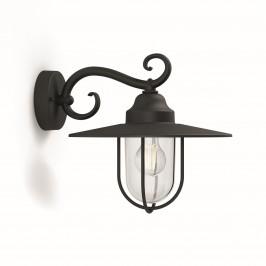 Philips 16270/30 / PN Pasture Vonkajšie nástenné svietidlo 35,5 cm, čierna