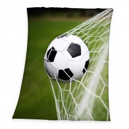 Herding Detská deka Futbal, 130 x 160 cm
