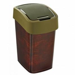 Curver Odpadkový kôš FLIP BIN 25 l, motív kože
