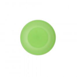 Altom Sada plastových tanierov Weekend 17 cm, zelená