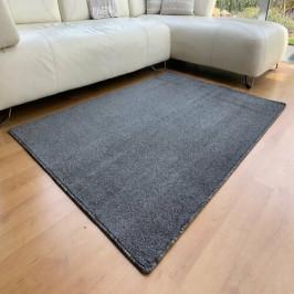 Vopi Kusový koberec Capri antracit, 80 x 120 cm