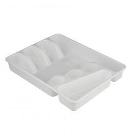 Altom Plastový príborník 34 x 26 x 4,5 cm, biela