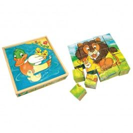 Obrázkové kocky Zvieratká 25 ks,