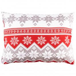 4Home Obliečka na vankúšik Red Nordic, 50 x 70 cm