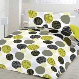 Kvalitex bavlna obliečky Fresh zelená, 220 x 200 cm, 2 ks 70 x 90 cm