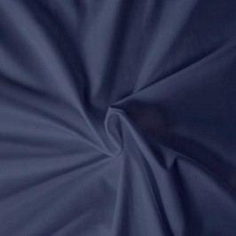 Kvalitex prestieradlo satén tmavomodré, 140 x 200 cm